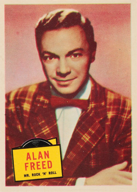 1957 Topps Hit Stars Alan Freed #62 Non-Sports Card