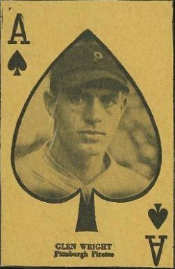 1927 W560 Strip Card Glenn Wright #49 Baseball Card