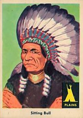 1959 Indian Trading Card   #1 Non-Sports Card