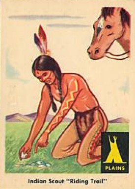 1959 Indian Trading Card   #2 Non-Sports Card
