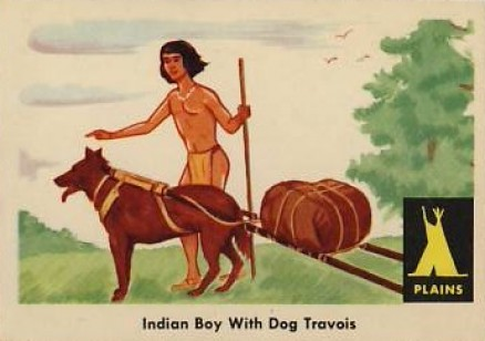 1959 Indian Trading Card   #3 Non-Sports Card