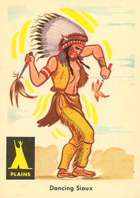 1959 Indian Trading Card   #12 Non-Sports Card