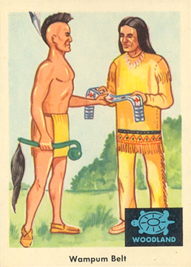 1959 Indian Trading Card   #20 Non-Sports Card