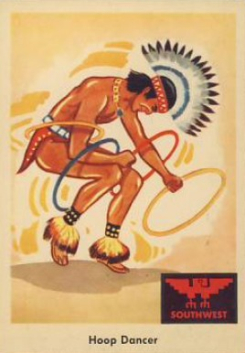 1959 Indian Trading Card   #58 Non-Sports Card