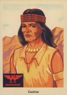 1959 Indian Trading Card  Cochise #59 Non-Sports Card