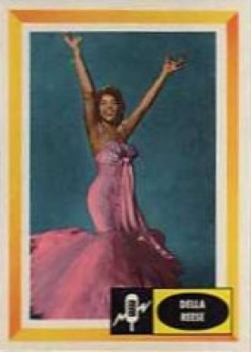 1960 Spins And Needles Della Reese #1 Non-Sports Card