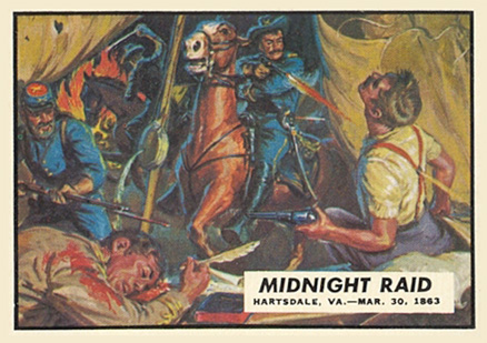 1962 Topps Civil War News Midnight Raid #36 Non-Sports Card