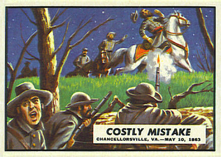 1962 Topps Civil War News Costly Mistake #43 Non-Sports Card