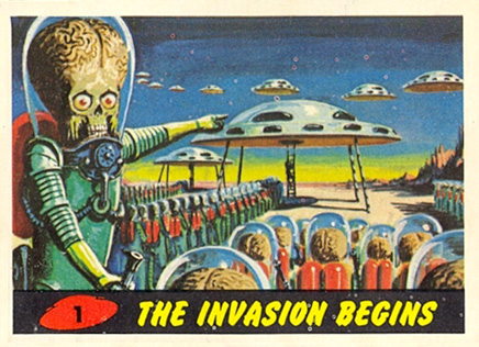 1962 Mars Attacks   #1 Non-Sports Card