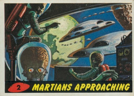 1962 Mars Attacks   #2 Non-Sports Card