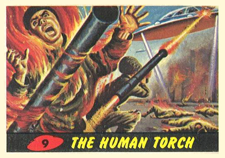 1962 Mars Attacks   #9 Non-Sports Card