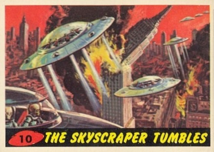 1962 Mars Attacks   #10 Non-Sports Card