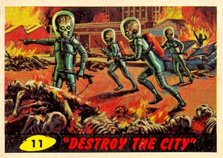 1962 Mars Attacks   #11 Non-Sports Card