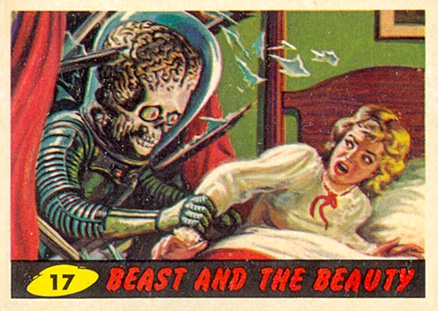 1962 Mars Attacks   #17 Non-Sports Card