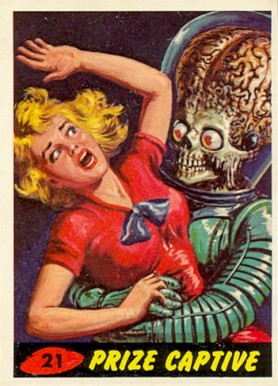 1962 Mars Attacks   #21 Non-Sports Card