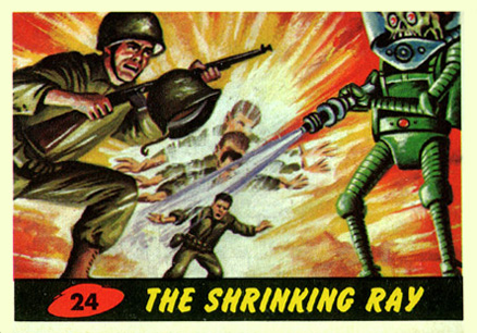 1962 Mars Attacks   #24 Non-Sports Card