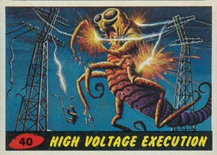 1962 Mars Attacks   #40 Non-Sports Card