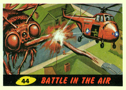 1962 Mars Attacks Battle in the Air #44 Non-Sports Card