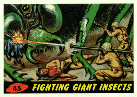 1962 Mars Attacks   #45 Non-Sports Card