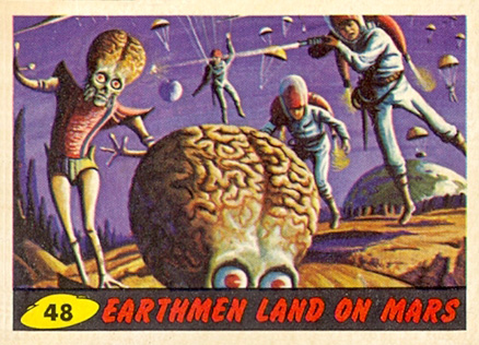 1962 Mars Attacks   #48 Non-Sports Card
