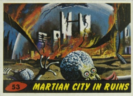 1962 Mars Attacks   #53 Non-Sports Card