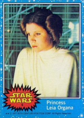 1977 Star Wars   #5 Non-Sports Card