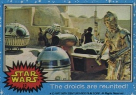 1977 Star Wars   #12 Non-Sports Card