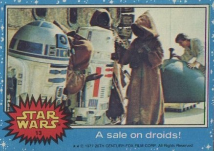 1977 Star Wars   #13 Non-Sports Card