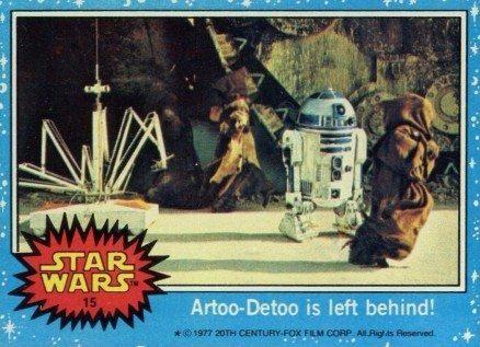 1977 Star Wars   #15 Non-Sports Card