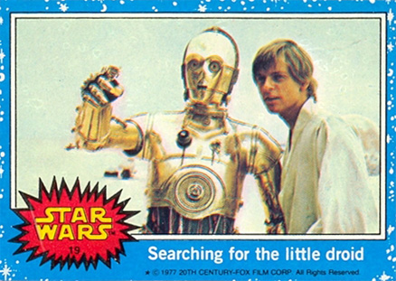 1977 Star Wars   #19 Non-Sports Card