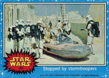 1977 Star Wars   #29 Non-Sports Card
