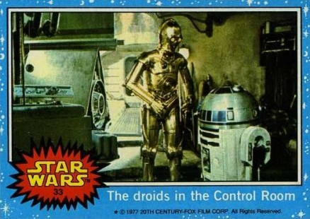 1977 Star Wars   #33 Non-Sports Card