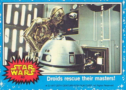 1977 Star Wars   #40 Non-Sports Card