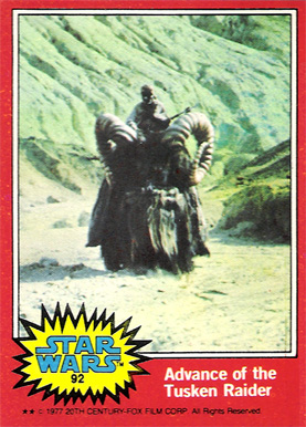 1977 Star Wars   #92 Non-Sports Card