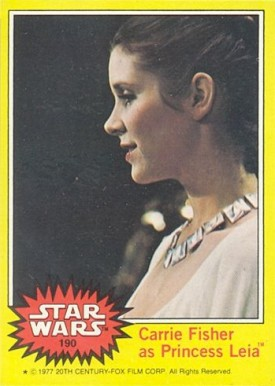 1977 Star Wars   #190 Non-Sports Card