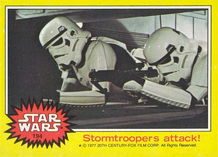 1977 Star Wars   #194 Non-Sports Card