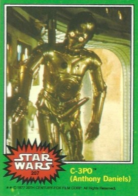 1977 Star Wars   #207e Non-Sports Card