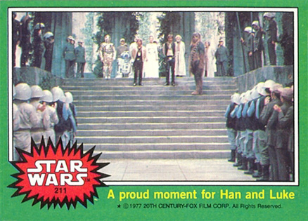 1977 Star Wars   #211 Non-Sports Card