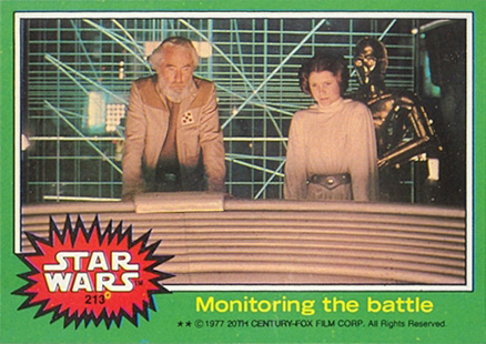 1977 Star Wars   #213 Non-Sports Card
