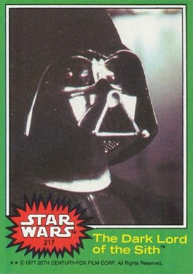 1977 Star Wars   #217 Non-Sports Card