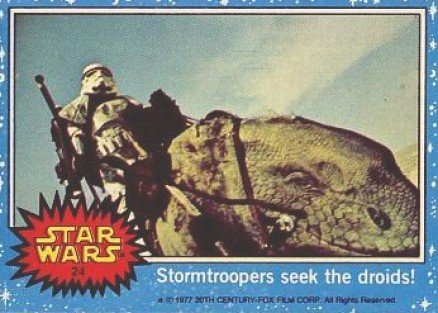 1977 Star Wars   #24 Non-Sports Card