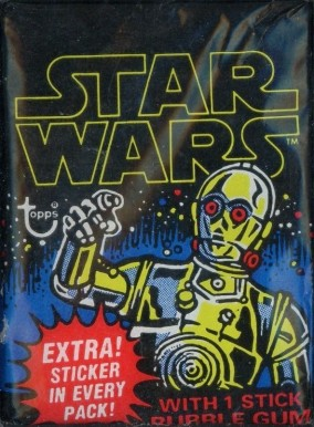 1977 Star Wars Wax Pack #WP1 Non-Sports Card