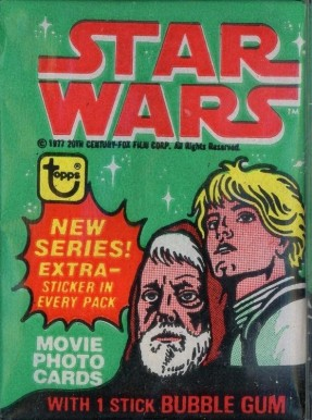 1977 Star Wars Wax Pack #WP Non-Sports Card