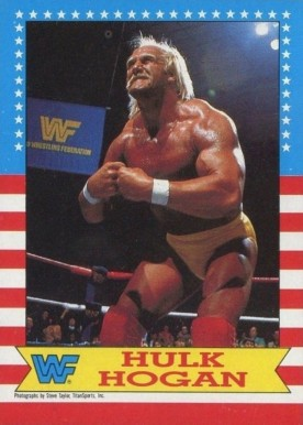 1987 Topps WWF Hulk Hogan #3 Non-Sports Card