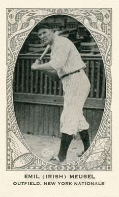 1922 Strip Card Emil (Irish) Meusel #138 Baseball Card