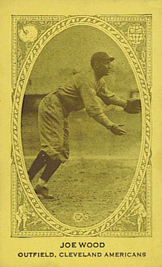 1922 W573 Strip Card Joe Wood #235 Baseball Card