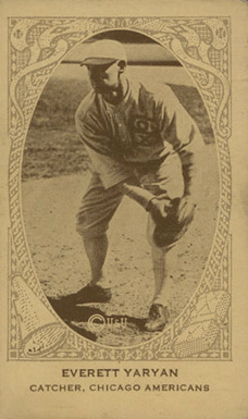 1922 W573 Strip Card Everett Yaryan #238 Baseball Card