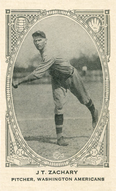 1922 W573 Strip Card Tom Zachary #240 Baseball Card