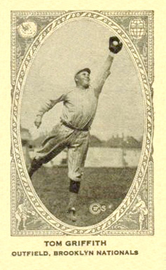 1922 W573 Strip Card Tom Griffith #76 Baseball Card