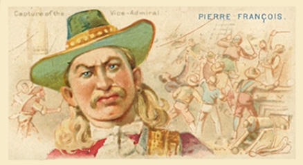 1888 Allen & Ginter Pirates of the Spanish Main Pierre Francois #1 Non-Sports Card